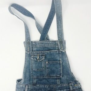 Free People Jean Overalls